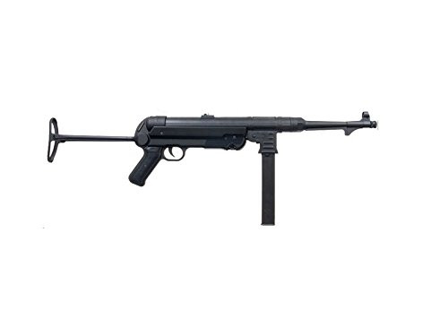 Muzzle right of AGM MP40 black Airsoft Electric rifle gun