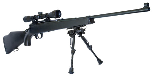 Crown Model Airsoft Cocking Bolt Action Super Rifle U10 Senior with Scope bipod