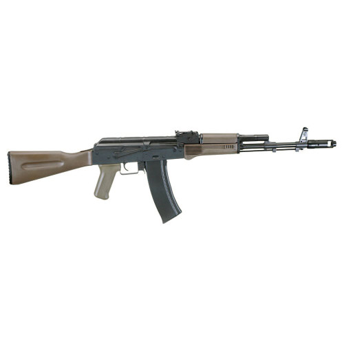 Muzzle right of LCT Airsoft AK74M NV Airsoft electric rifle gun