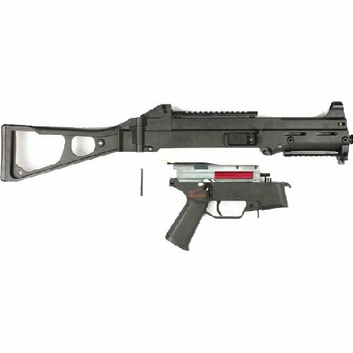 Right side of S&T UMP Competition BK S&TAEG13BK Airsoft sub machine gun