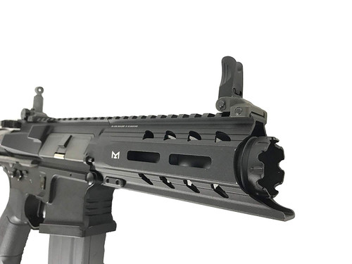 Muzzle of G&G ARMAMENT ARP 556S Airsoft electric rifle gun