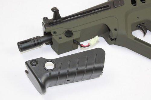 Muzzle of S&T TAVOR 21 Explorer Ver. OD Airsoft electric rifle gun