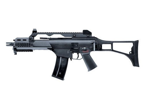 S&T G36C Competition black Airsoft electric rifle gun