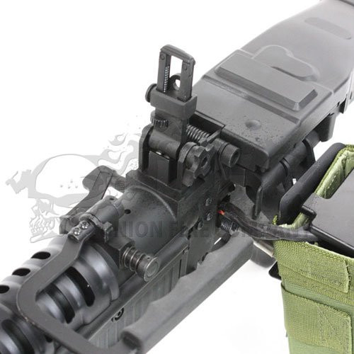 Top of A&K M60VN Airsoft AEG machine gun