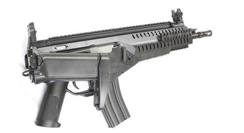 Folding stock of S&T ARX160 SportLine black Airsoft electric AEG rifle gun