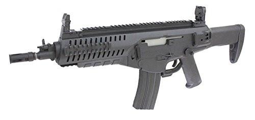 Muzzle left of S&T Beretta ARX 160 CQB black Airsoft electric blowback gun