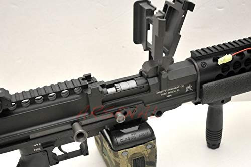 Right side of Classic Army KAC Knight's Stoner LMG Full Metal Airsoft electric rifle gun