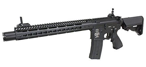 Muzzle left of S&T NOVESKE NSR 13.5 Full Metal Airsoft electric rifle gun