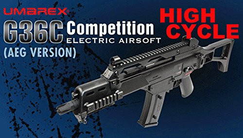 Box of S&T G36C Competition High Cycle Airsoft electric rifle gun