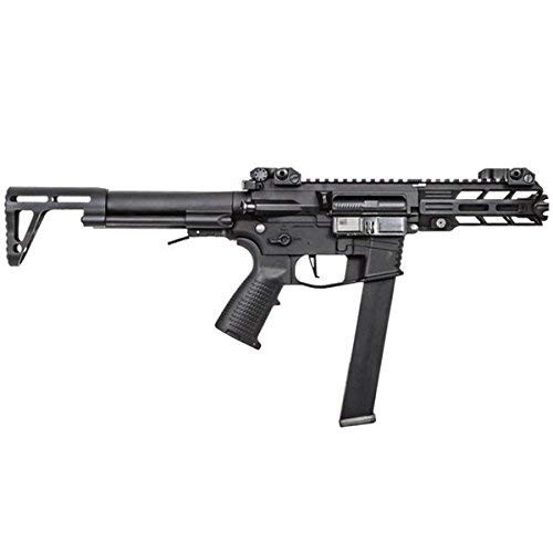 Left side of Classic Army NEMESIS X9 Airsoft electric AEG sub machine gun