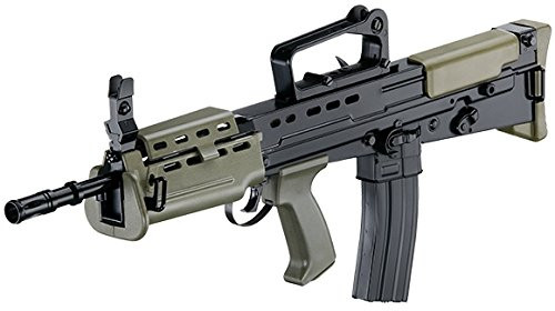 Left side of ICS L85A2 carbine Airsoft electric rifle gun