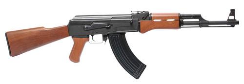 Muzzle left of G&G ARMAMENT CM RK47 black Airsoft electric rifle gun