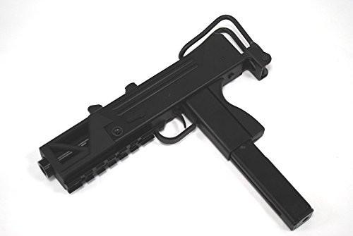 Muzzle left of HFC BLADE M11 short tactical rail standard equipment type A1 GBB Airsoft sub machine gun