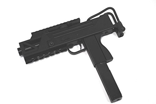 Muzzle left of HFC BLADE M11 short tactical rail standard equipment type A2 GBB Airsoft sub machine gun