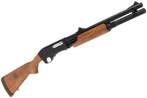 Muzzle right of  APS CAM870 MK2-J Live Shell MAGNUM Airsoft Shotgun