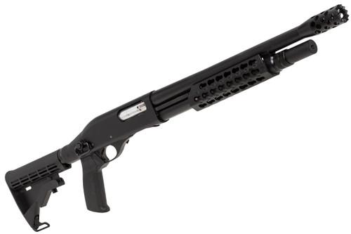 Muzzle right of APS CAM870 MK2-J Live Shell TACTICAL Airsoft Shotgun
