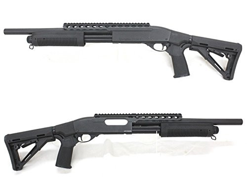 Left and right of A&K M870 Middle Tactical Pump action Airsoft shotgun