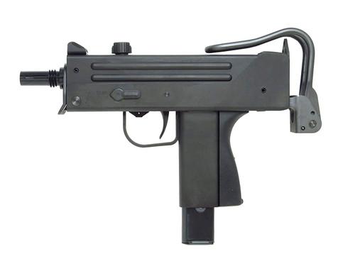 Muzzle left of Craft Apple Works Ingram M11 SubMachine Pistol HW Black Model Gun