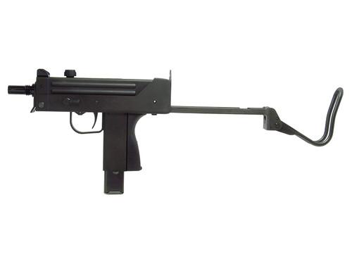 Left side of Craft Apple Works Ingram M11 SubMachine Pistol HW Black Model Gun