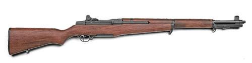Muzzle left of Denix 1105 M1 Garand USA 1932 Model Gun
