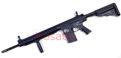 Muzzle left of Classic Army M110 special MOSFET sniper 9mm Airsoft Rifle Gun