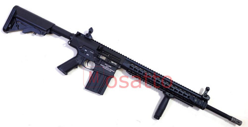 Muzzle right of Classic Army M110 special MOSFET sniper 9mm Airsoft Rifle Gun