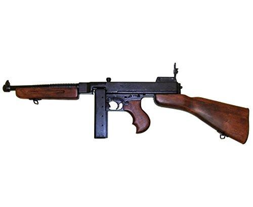 Muzzle left of DENIX 1093 M1 Thompson USA 1928 Submachine Model Gun