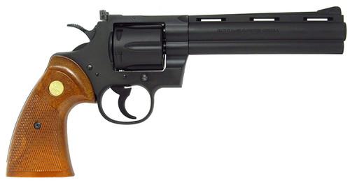 Muzzle right of Tanaka Colt Python 357magnum 6inch R-model HW Model Gun