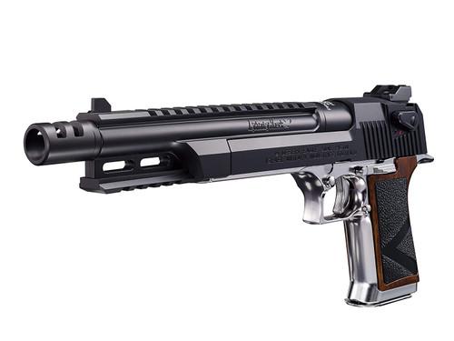 Muzzle left of Tokyo Marui Resident Evil Lightning Hawk .50AE 10 inch Magnaport Custom GBB Airsoft Pistol