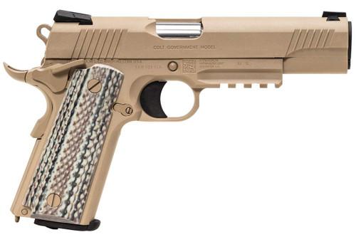Muzzle right of BATON airsoft M45A1 CO2 GBB FDF Airsoft gun