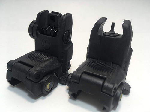 MAGPUL MBUS Gen 2 Front & Rear Flip Up Sight Black