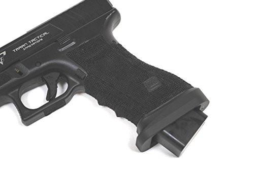 Grip of  BELL TTI Type Glock G34 John Wick 2 Combat Master Custom Metal Slide Full Stamped Latest Version GBB Airsoft gun