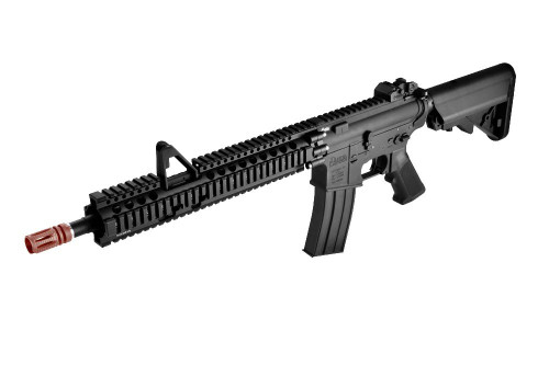 Madbull Airsoft Daniel Defense Certified AR15 Lite RAS FSP 12 Black