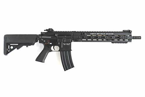 Muzzle right of DOUBLE BELL HK416 Long GEISSELE Type 14.5inch SMR Handguard Metal AIrsoft Electric Gun
