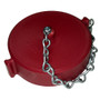 """3"""" Threaded Cap with Chain, NH"""