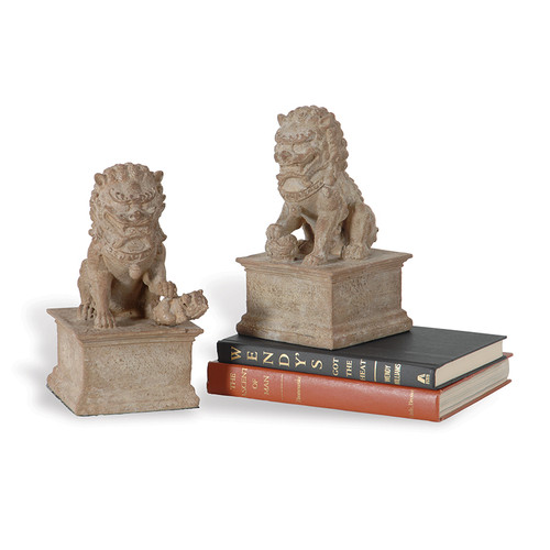 Han Dynasty Bookends- Set Of 2