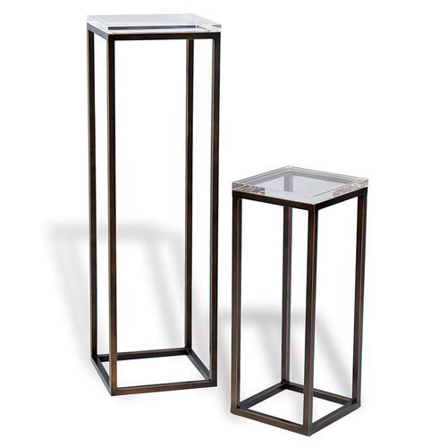 Drake Bronzhttps://cdn3.bigcommerce.com/s-nzzxy311bx/product_images//e/Lucite Pedestals- Set Of 2