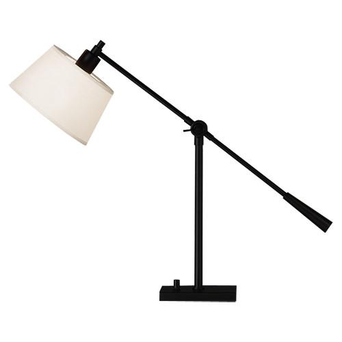 Real Simple Boom Table Lamp - Matte Black Powder Coat