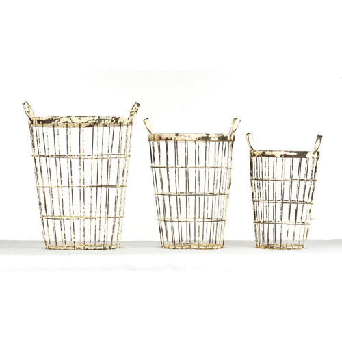 Metal Crate, Set Of 3