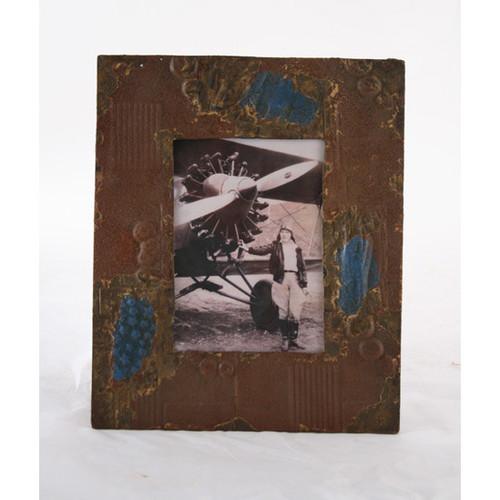 Vintage Metal Picture Frame, Set Of 4
