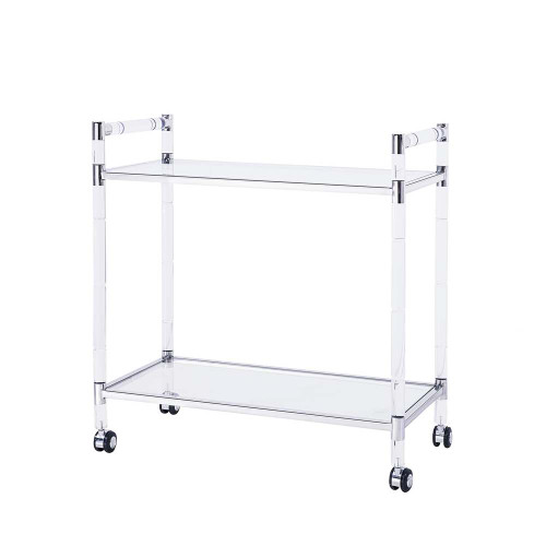 Bronson Bar Trolley - Silver