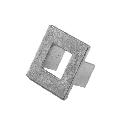 Hudson Square Hardware In Silver Leaf