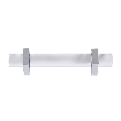 Monica Lucite And Nickel Hardware