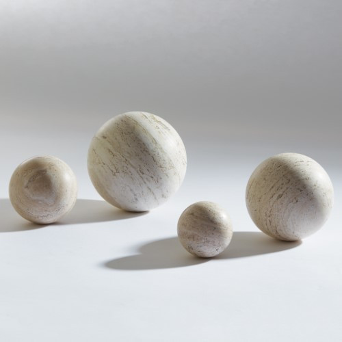 "Travertine Sphere - 4"""