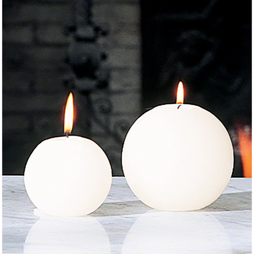 """Ball Candle - Unscented - 3"""""""