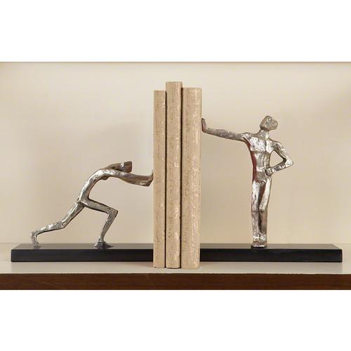 Blockhead Bookends - Pair