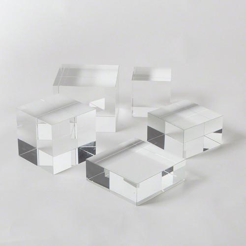 Crystal Cube Riser - Lgst