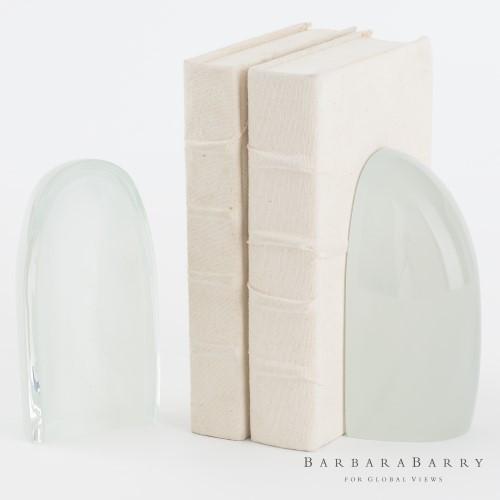 Iceberg Bookends - Mist - Pair