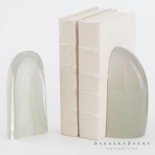 Iceberg Bookends - Smoke - Pair