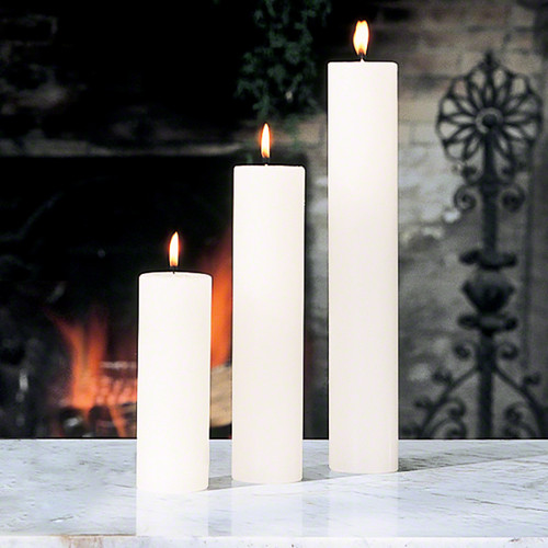 """Pillar Candle - Unscented - 2""""x12"""""""